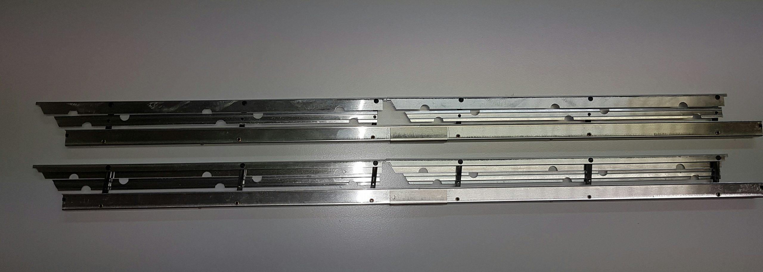 Aérofreins Fingerle 500/16 mm, double/argent
