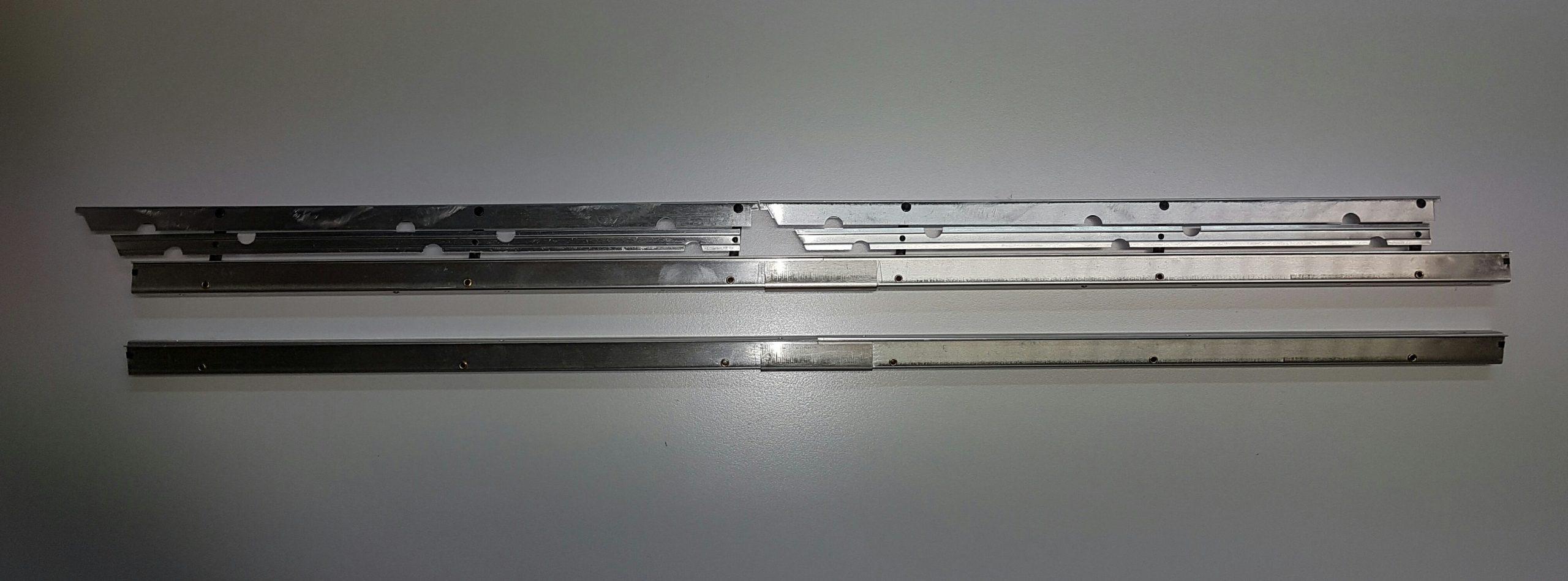 Landeklappen Fingerle 740/16 mm, doppelt/silber