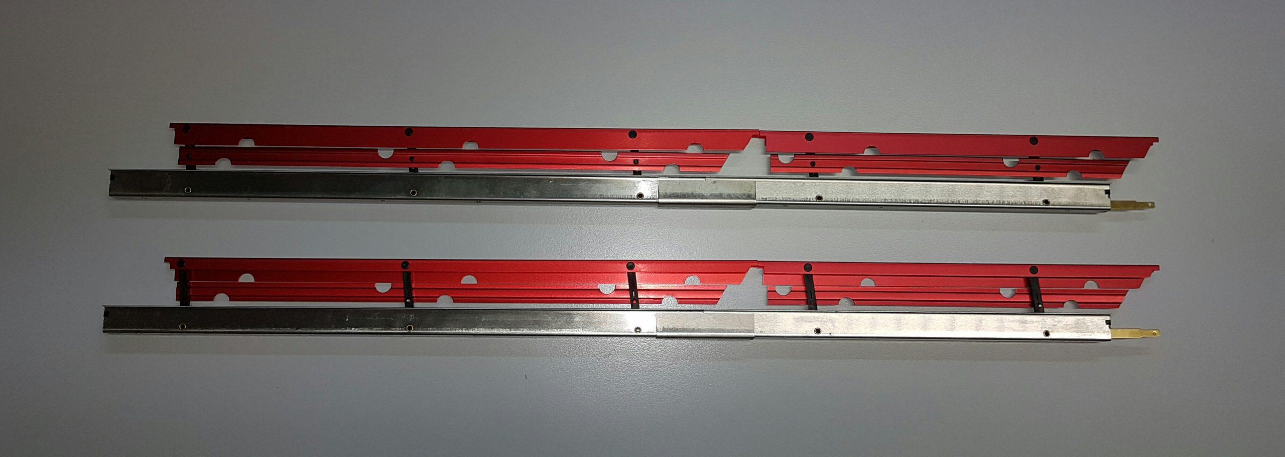 Landeklappen Fingerle 620/16 mm, doppelt/rot