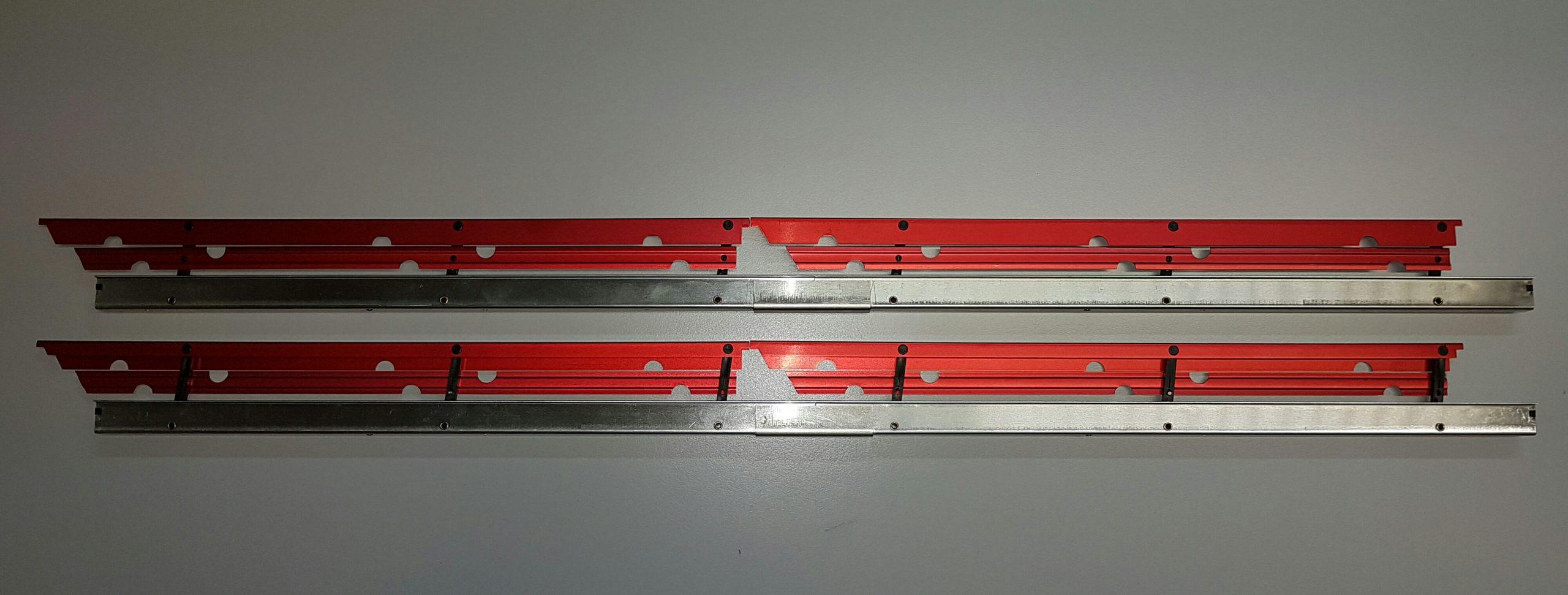 Landeklappen Fingerle 500/16 mm, doppelt/rot