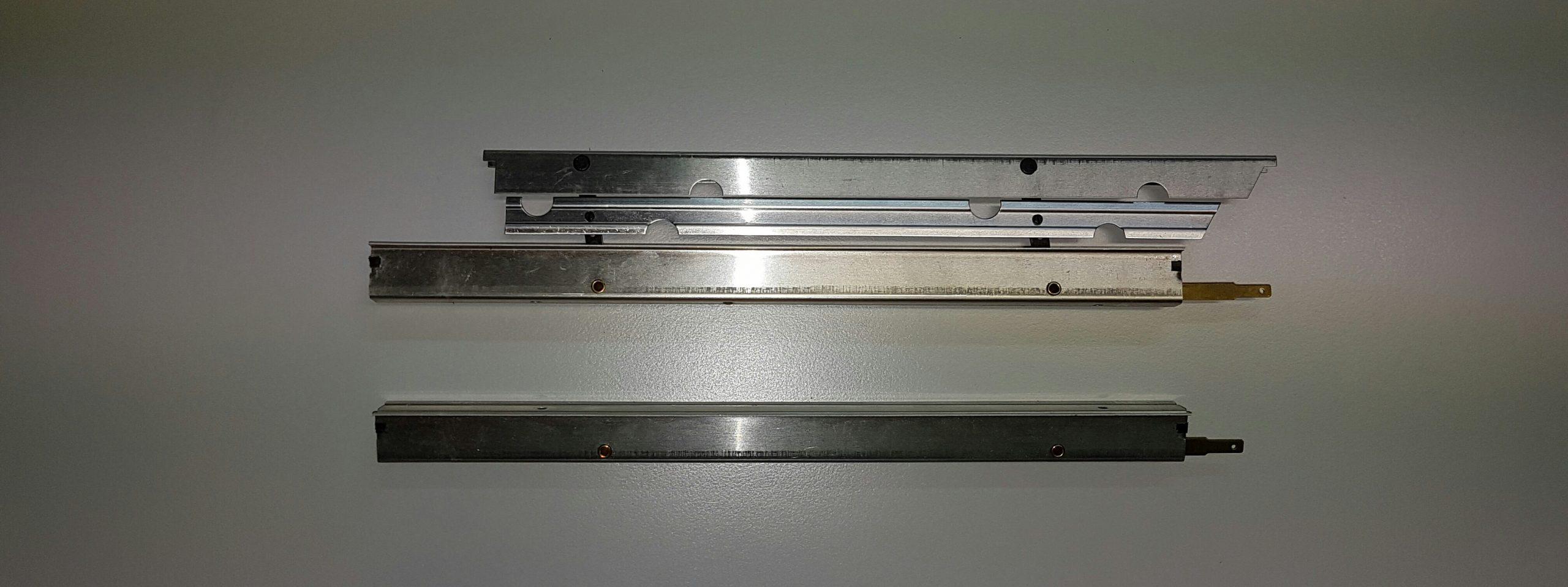Landeklappen Fingerle 250/16 mm, MPX innen angelenkt/silber