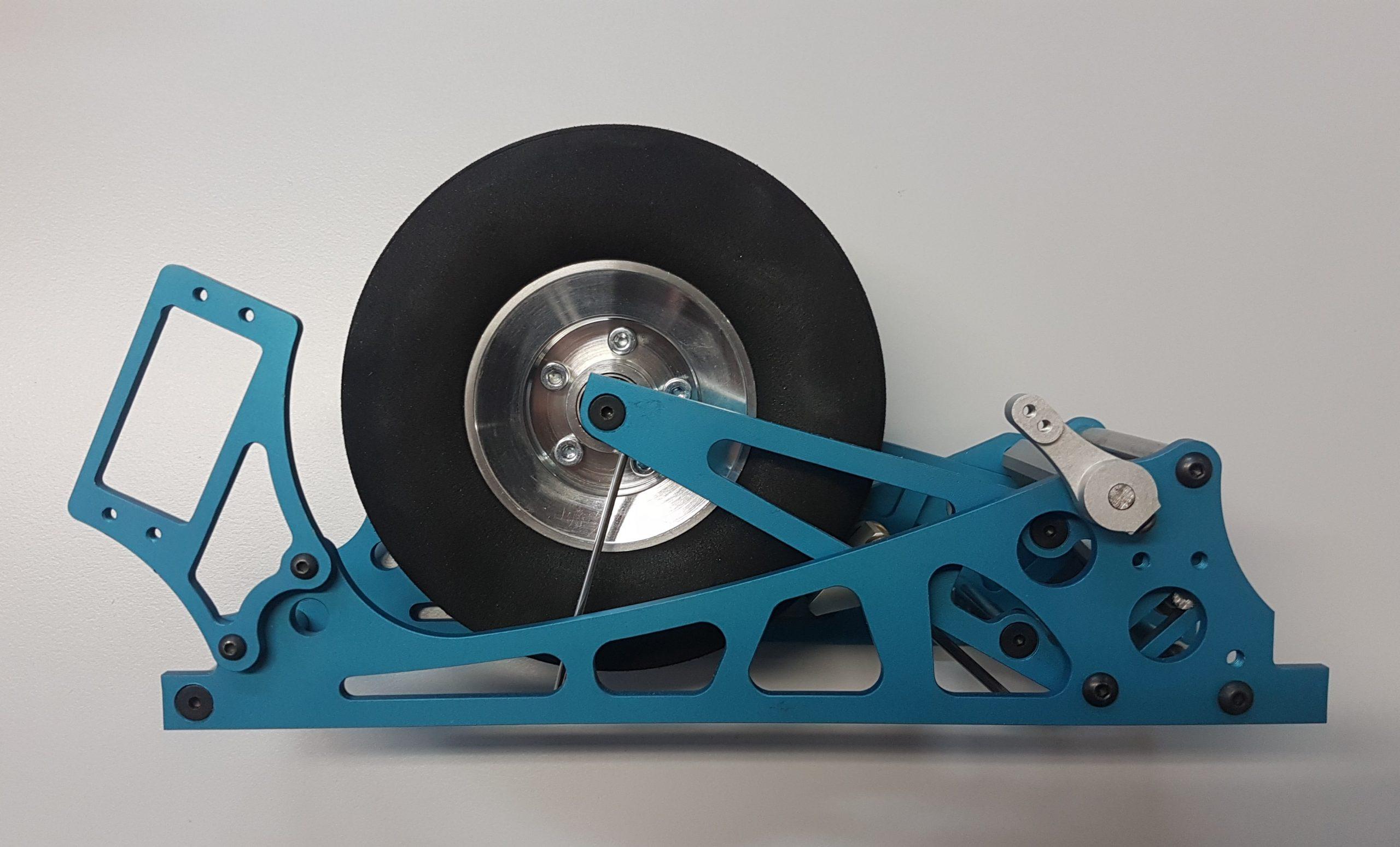 Fahrwerk M Rad 100 mm