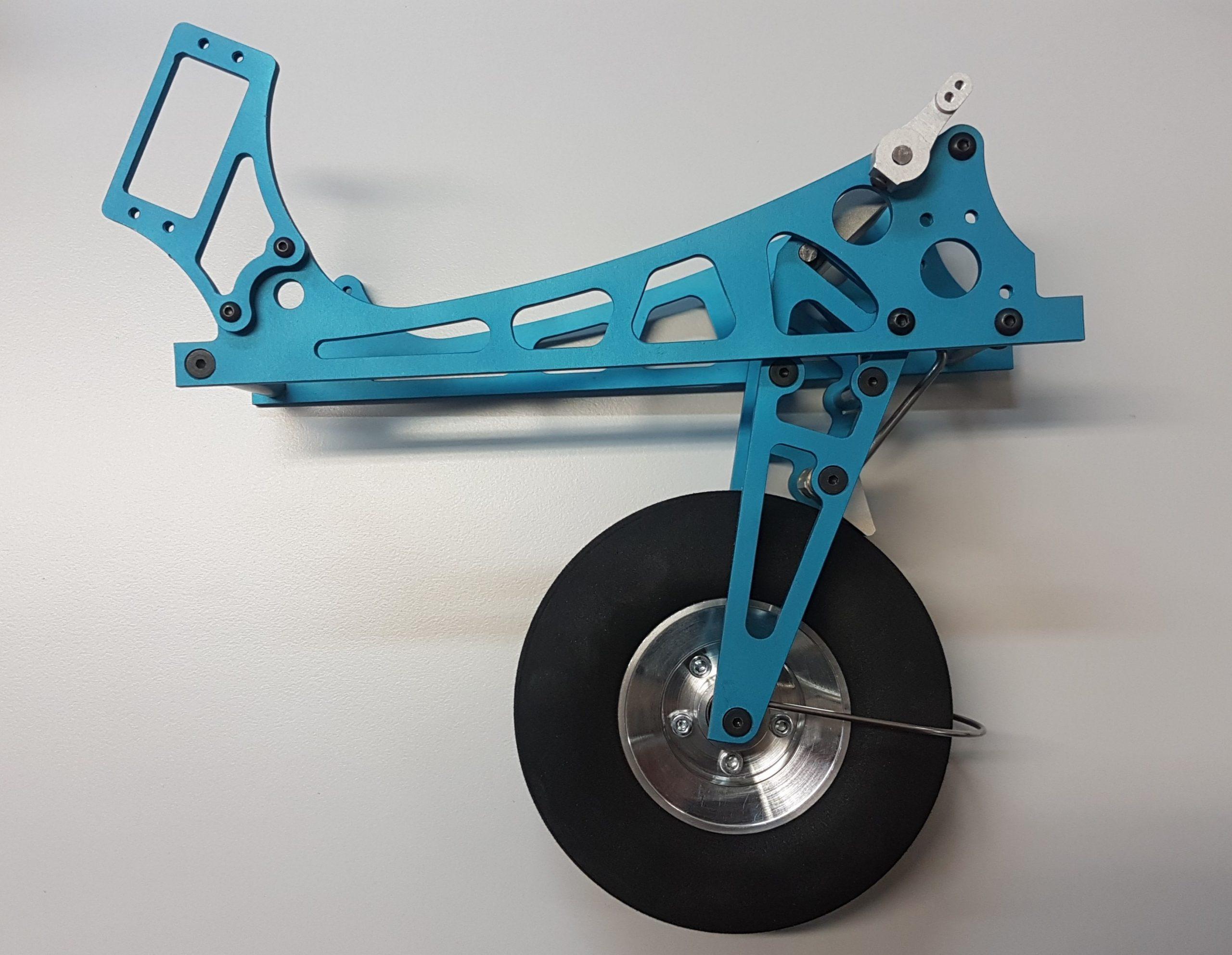 Fahrwerk L Rad 127 mm mit Bremse