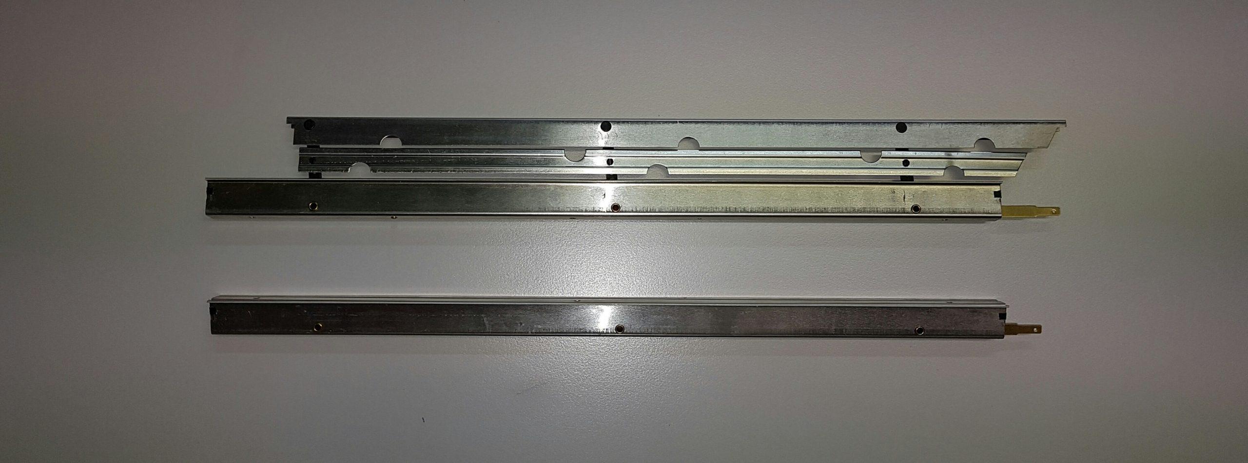 Aérofreins Fingerle 370/16 mm, einfach/silber