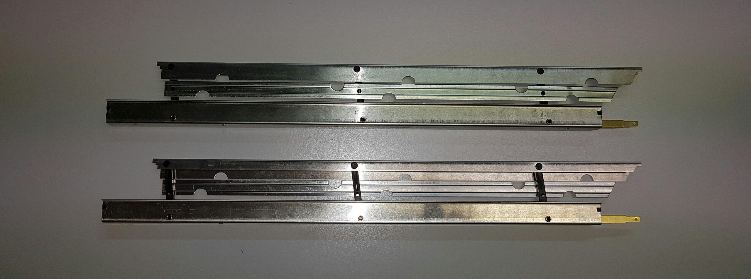 Aérofreins Fingerle 370/16 mm, double/argent