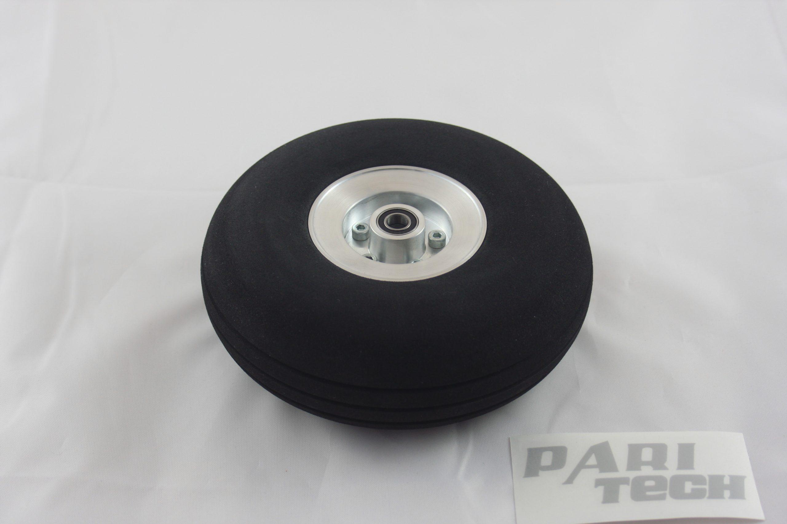 Rad mit Aluminiumfelge 100 mm